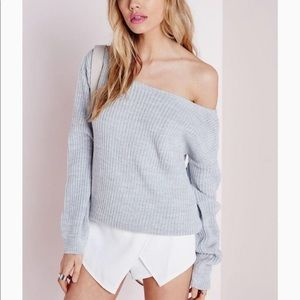 🆕 Missguided Ophelita Off The Shoulder Sweater 💕